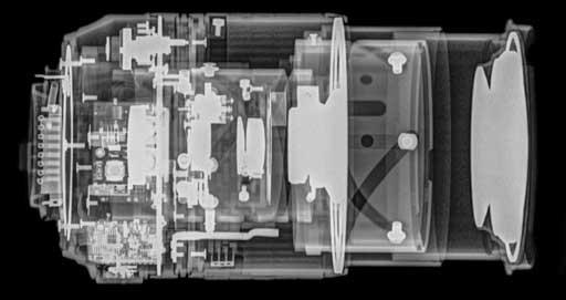 Nikon 18-105mm f/3.5-5.6 - 105 mm-nél