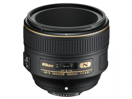 Különleges 1,4/58-as objektív a Nikontólű