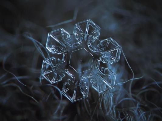 Csodás hópehelyfotók kompakt géppel