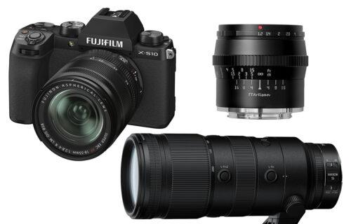 A legújabb kamerák a Digitális Fotóban!
