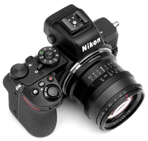 A TTartisan 50mm f/1.2 immár Nikon Z és Leica L csatlakozással is elérhető