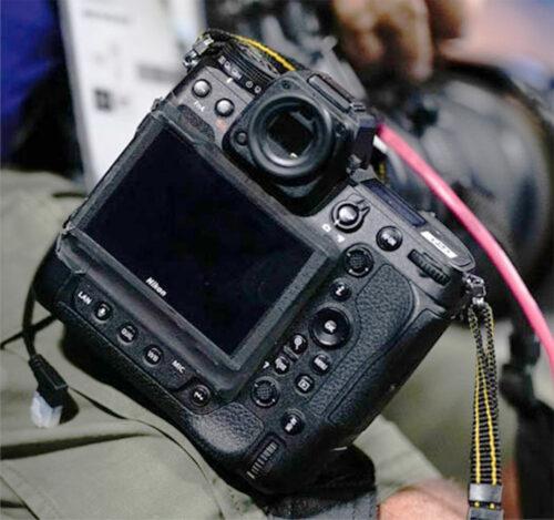 Nikon Z9-et fotóztak az olimpián